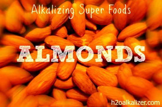 alkalizing superfoods almonds