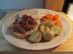 Crockpot BBQ Pork Shoulder 010