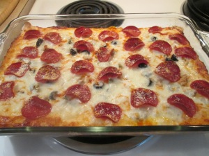 Deep Dish Pizza Casserole 010