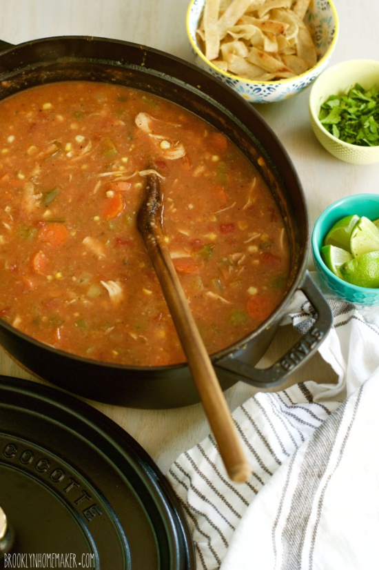 tortilla soup | Brooklyn Homemaker