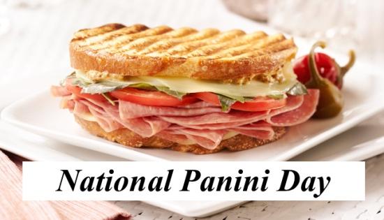 national panini day