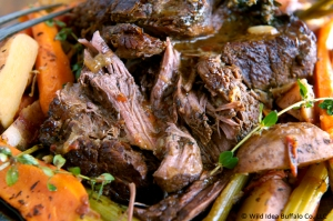 Buffalo Pot Roast