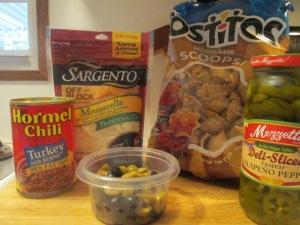 Chili and Cheese Nachos 001