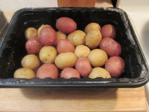 Cumin Spiced Pork Chops w Savory Herb Potatoes and Cut Green Bea 012