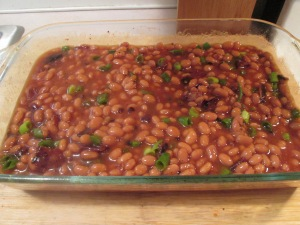 Mini Turkey Meat Loaves and Baked Beans 003