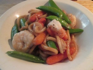 Shrimp with Udon Noodles 019