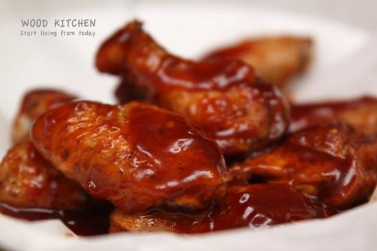 smoky BBQ wings
