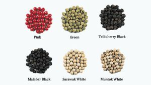 The six variants of pepper
