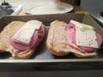 Baked Ham, Beef Salami, and Swiss Hoagie w Baked Fries005