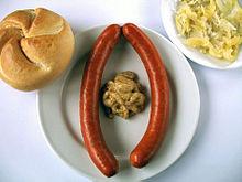 Würstl, virsli or European vienna sausage