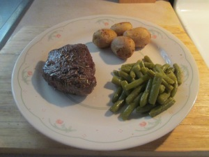 how to cook 5 ounces of sirloin