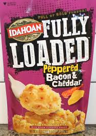 Idahoan Fully Loaded Peppered Bacon and Cheddar