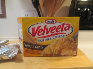 Skillet Velveeta Whole Grain Rotini and Cheese w Hardwood Smoked 001