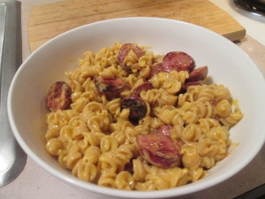 Skillet Velveeta Whole Grain Rotini and Cheese w Hardwood Smoked 003