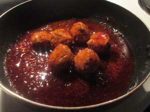 Sweet and Sour Turkey Meatballs w Sugar Snap Peas, Pineapple, Wa 003