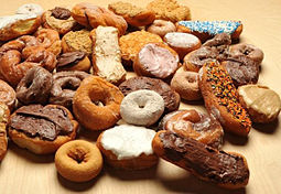 A variety of doughnuts