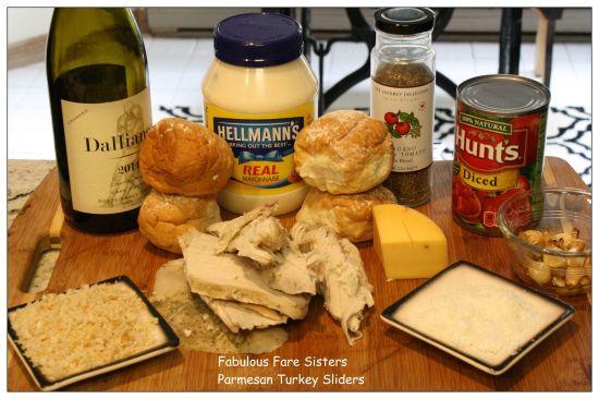 Parmesan Turkey Sliders 1