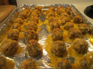Sausage Crescent Cheese Balls 004