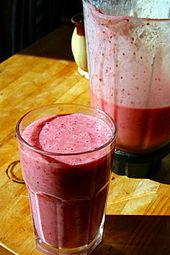 Smoothie and blender