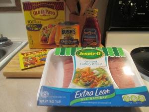 Turkey and Black Bean Tacos 001