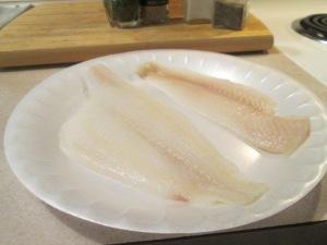 Baked Flounder Sandwich w Egg Noodles 002