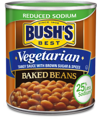 Bush's Vegetarian Reduced Sodium Baked Beans