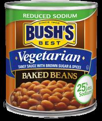 Bush's Vegetarian Reduced Sodium Baked Beans