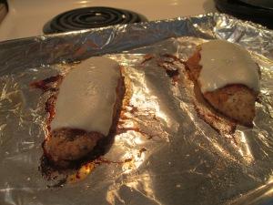 Chicken Parmesan Sandwich w Baked Potato 003