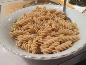Italian Turkey Rotini Pasta w Baked French Bread 006