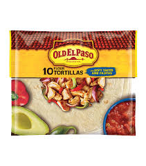 Old El Paso Flour Tortillas for Soft Tacos and Fajitas