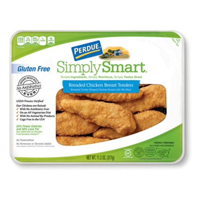 Breaded Chicken Breast Tenders w/ Velveeta Shells and ...