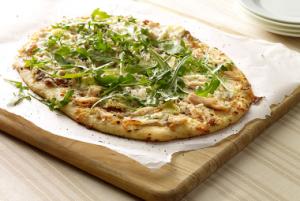 Turkey, Onion Jam & Brie Pizza