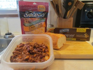 Cincinnati Style 4 Way – Spaghetti, 3 Bean Buffalo Chili, and Ch 001