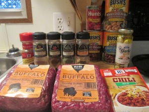 Crock Pot 3 Bean Buffalo Chili w Cornbread 001