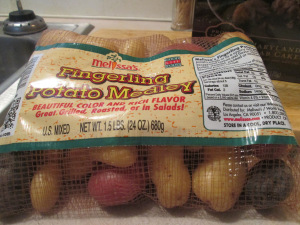 Fingerling Potatoes Bag