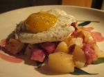 Ham, Diced Potato, Egg, Hash005