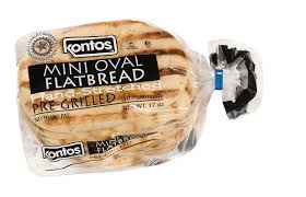 kontos mini oval flatbread