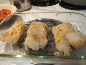 Lemon-Parsley Baked Cod 003