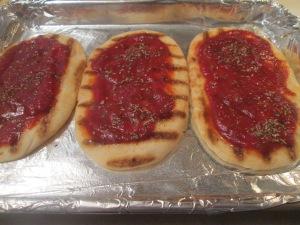 Mini Flatbread Pepperoni and Sausage Pizza 004