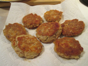 Salmon Patties Golden Brown