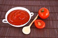 Tomatoes and tomato ketchup