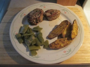 Tuscan Seasoned Pork Medallions w Roasted Fingerling Potatoes an 008