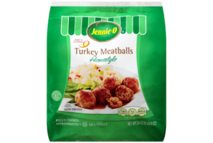Jennie - O Fully Cooked Home Style Turkey Meatballs