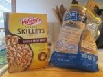Skillet Chicken Bacon Ranch Dinner w Baked Italian Loaf Bread003