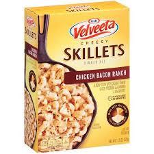 Velveeta Cheesy Skillets Chicken Bacon Ranch Dinner