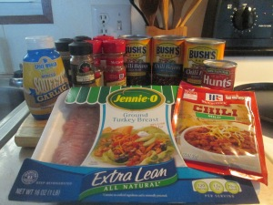 3 Bean Turkey Chili w Johnny Cakes 001