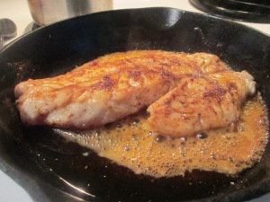 Blackened Gulf Coast Grouper w Whole Kernel Sweet Corn and Seaso 004