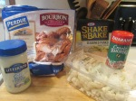 Bourbon Glazed Chicken Breast Chunks w Crispy Parmesan Cauliflo004