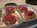 Mini Turkey Meatloaves w Green Beans and Tater Tots003
