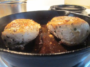Pan Seared Oven Roasted Skinless Boneless Chicken Breast 005